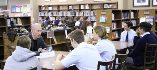 Senior School Students and Alumni Speed Mentoring