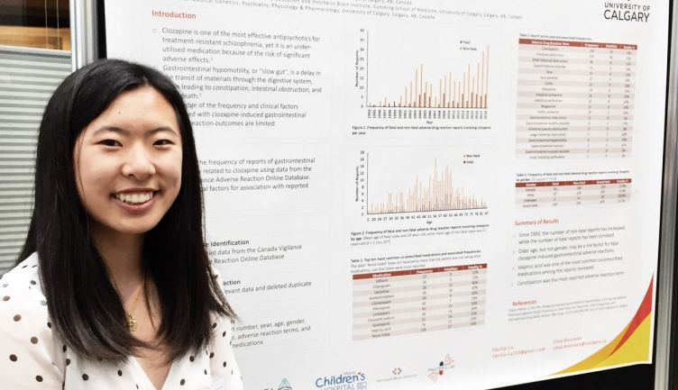 Cecilia L. '20 participates in the University of Calgary's Heritage Youth Researcher Summer program