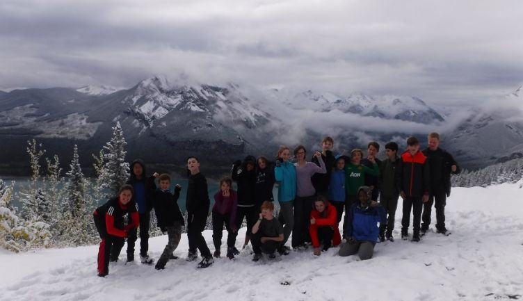 Annual Grade 7 Orientation Camp at Camp Chief Hector