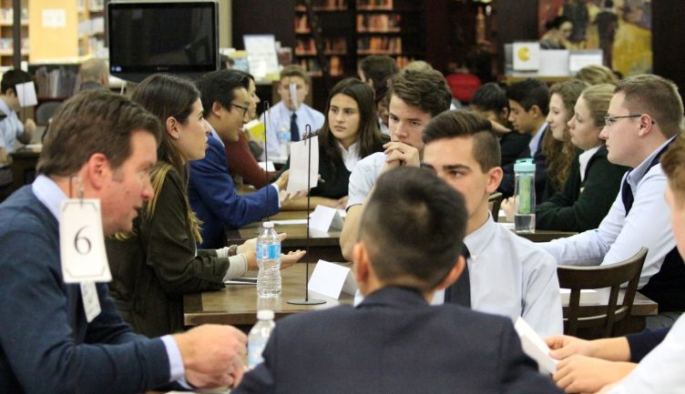 Annual Speed Mentoring event at STS another success