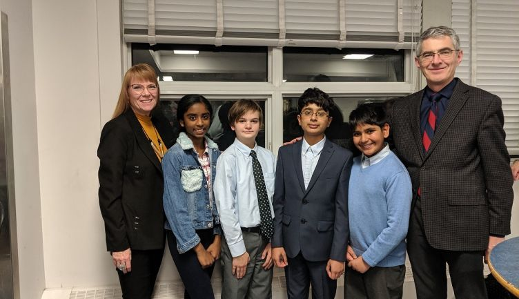Middle School Debate competes at Queen Elizabeth High School