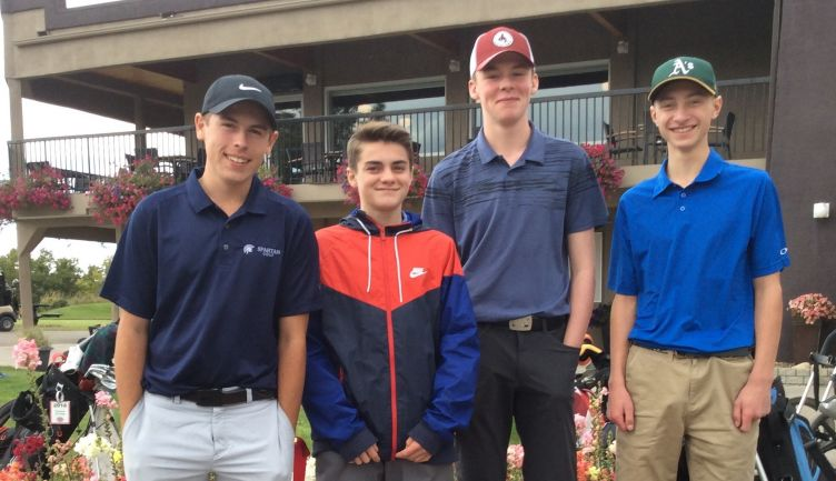 Congratulations to the STS Spartans Golf Team