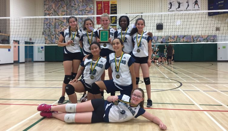 Junior B Girls Volleyball Team Victorious in Olds