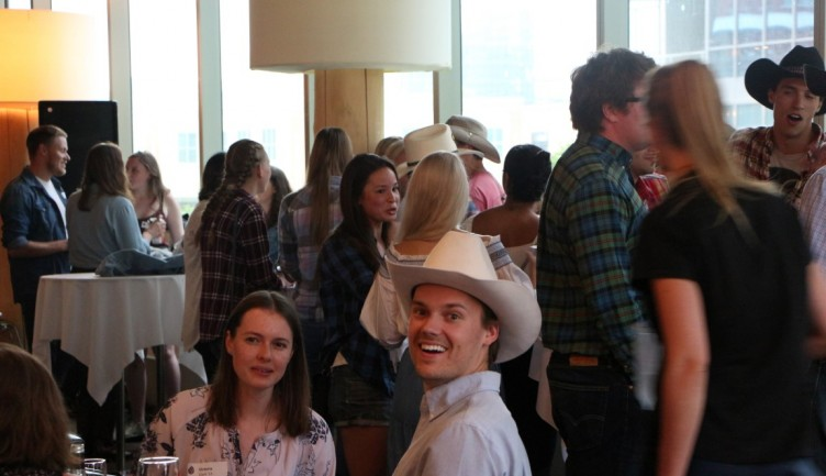 Fun was had at the 9th annual Alumni Stampede party!