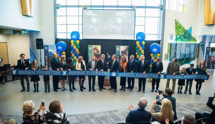 Official ribbon cutting and dedication ceremony mark monumental milestone at STS