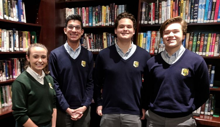 STS competes at the Senior National Debate tournament