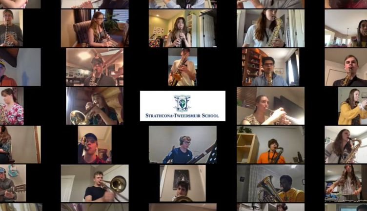 Making Music Together, Remotely: Senior Band Virtual Performance
