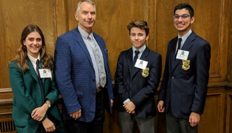 Students Compete at the International Independent Schools Public Speaking Competition Held In Winnipeg