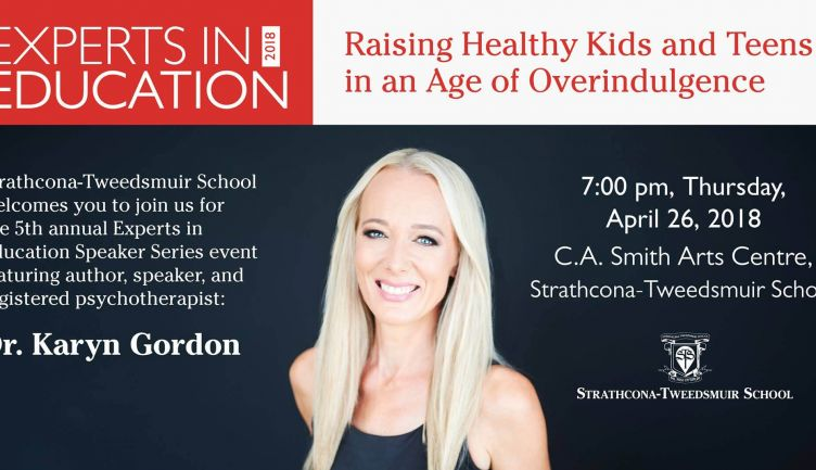 Experts in Education Speaker Series - Dr. Karyn Gordon