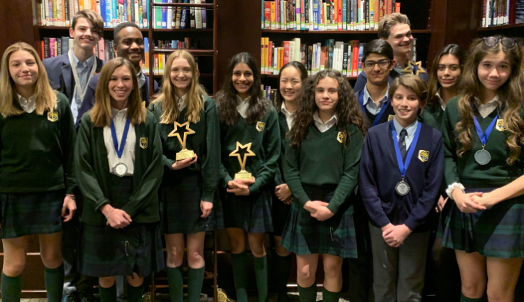 Students excel at Provincial Speech tournament