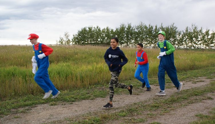 The 34th annual Terry Fox run at STS