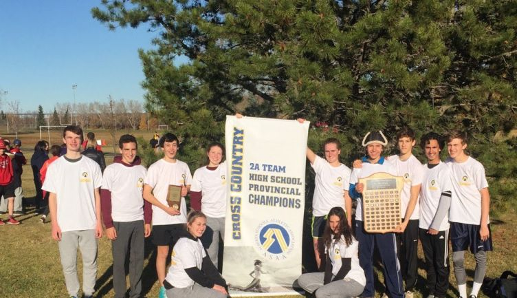 Eight-time 2A Provincial Cross-Country Champions