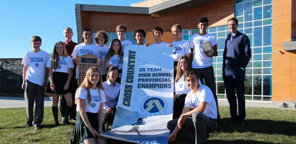 Spartans Defend ASAA 2A Cross-Country Running Banner and 2A Zone Banner