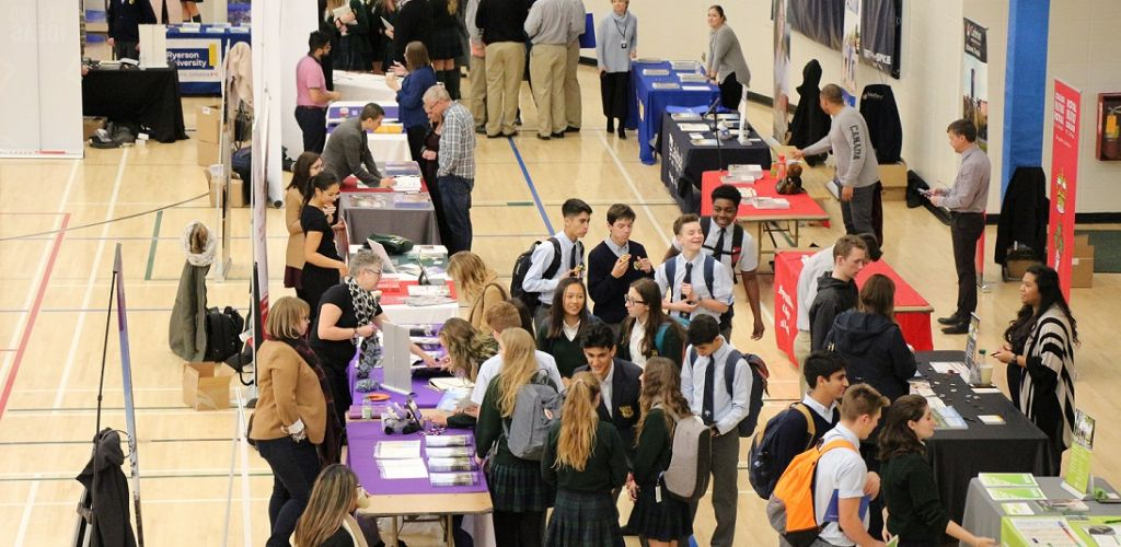 STS hosts university representatives for our annual out-of-province University Fair