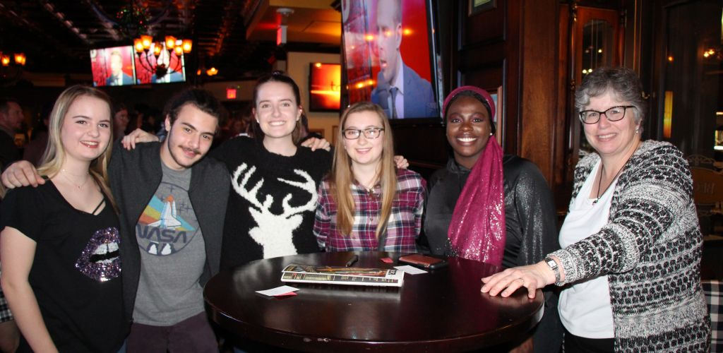 Young Alumni Connect at Annual Pub Night
