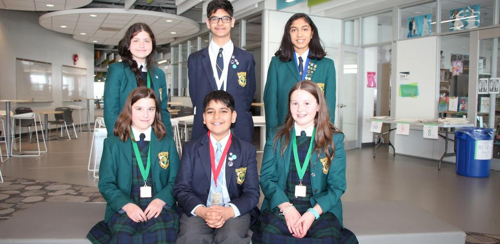 STS competes at the 2019 Calgary Youth Science fair