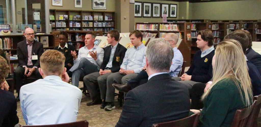 STS Grade 11 Panel Discussions with Alumni and Parents – April 24, 2019