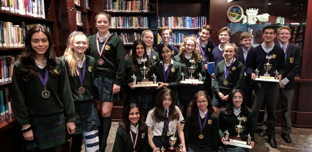 STS hosts the 2019 Provincial Speech tournament!