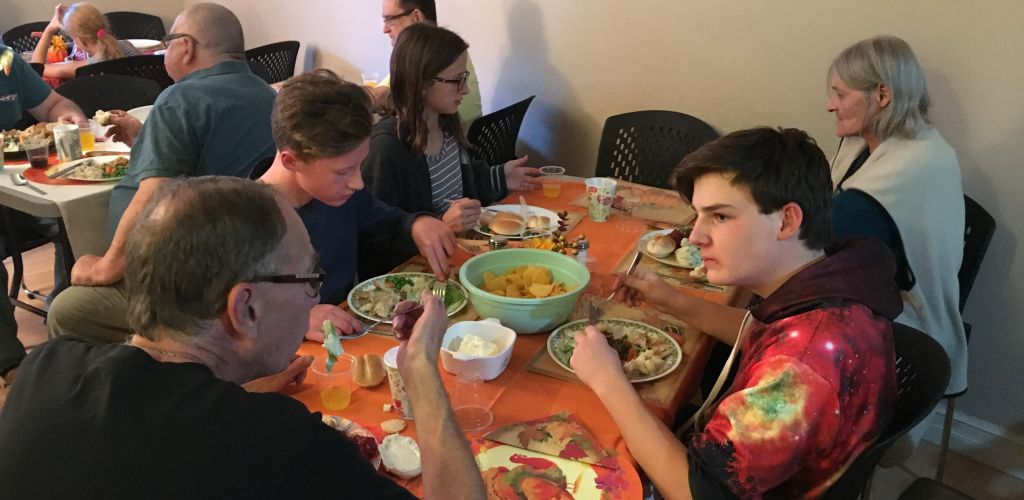 More Than a Feast for Bridgeland Manor Residents