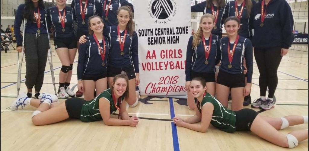 A strong finish to the 2018 Senior Varsity Girls Volleyball season