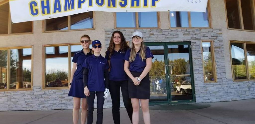 Spartan ladies golf team takes home silver at Provincial tournament
