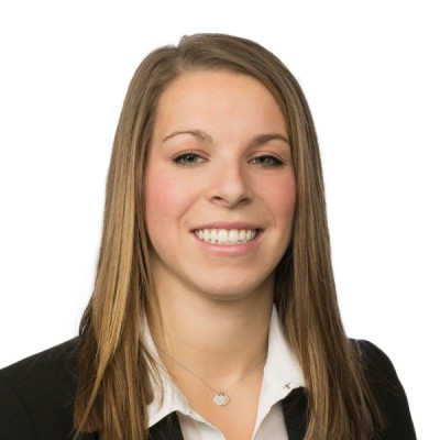 Brittany Girling '09 - Head of the Young Alumni Committee