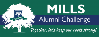 Take the Mills Alumni Challenge